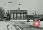 Image of Brandenburg Gate Berlin Germany, 1961, second 11 stock footage video 65675063225