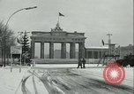Image of Brandenburg Gate Berlin Germany, 1961, second 12 stock footage video 65675063225