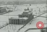 Image of Brandenburg Gate Berlin Germany, 1961, second 3 stock footage video 65675063227