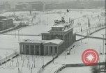Image of Brandenburg Gate Berlin Germany, 1961, second 4 stock footage video 65675063227