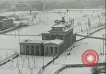 Image of Brandenburg Gate Berlin Germany, 1961, second 5 stock footage video 65675063227