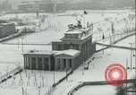 Image of Brandenburg Gate Berlin Germany, 1961, second 9 stock footage video 65675063227