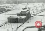 Image of Brandenburg Gate Berlin Germany, 1961, second 11 stock footage video 65675063227