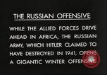 Image of Russian soldiers Eastern Front European Theater, 1943, second 3 stock footage video 65675063231