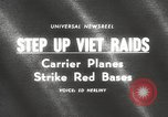 Image of United States aircraft carrier Pacific Ocean, 1965, second 1 stock footage video 65675063252