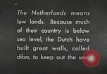 Image of farmlands Netherlands, 1940, second 6 stock footage video 65675063269