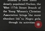 Image of Young Women's Christian Association Harlem New York City USA, 1940, second 1 stock footage video 65675063296