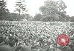 Image of Major Glenn Miller and his Army Air Forces Band High Wycombe England, 1944, second 1 stock footage video 65675063322