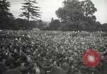 Image of Major Glenn Miller and his Army Air Forces Band High Wycombe England, 1944, second 6 stock footage video 65675063322