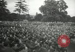 Image of Major Glenn Miller and his Army Air Forces Band High Wycombe England, 1944, second 7 stock footage video 65675063322