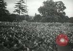 Image of Major Glenn Miller and his Army Air Forces Band High Wycombe England, 1944, second 8 stock footage video 65675063322