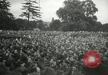 Image of Major Glenn Miller and his Army Air Forces Band High Wycombe England, 1944, second 9 stock footage video 65675063322