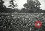 Image of Major Glenn Miller and his Army Air Forces Band High Wycombe England, 1944, second 12 stock footage video 65675063322