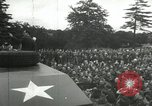 Image of 8th Air Force War Bond rally High Wycombe England, 1944, second 6 stock footage video 65675063323