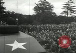 Image of 8th Air Force War Bond rally High Wycombe England, 1944, second 8 stock footage video 65675063323