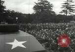 Image of 8th Air Force War Bond rally High Wycombe England, 1944, second 9 stock footage video 65675063323