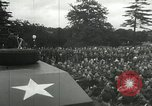 Image of 8th Air Force War Bond rally High Wycombe England, 1944, second 10 stock footage video 65675063323