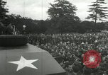 Image of 8th Air Force War Bond rally High Wycombe England, 1944, second 11 stock footage video 65675063323