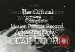 Image of Polar expedition North Pole, 1926, second 8 stock footage video 65675063324
