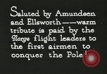 Image of Pilot Floyd Bennett Spitsbergen Norway, 1926, second 7 stock footage video 65675063334