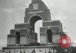 Image of ceremonies at Cenotaph Thiepval France, 1932, second 9 stock footage video 65675063354