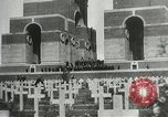 Image of ceremonies at Cenotaph Thiepval France, 1932, second 12 stock footage video 65675063354