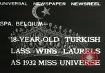 Image of Miss Universe contest Spa Belgium, 1932, second 3 stock footage video 65675063357