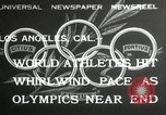 Image of 1932 Summer Olympic game highlights Los Angeles California USA, 1932, second 1 stock footage video 65675063358