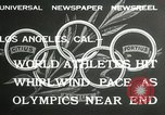 Image of 1932 Summer Olympic game highlights Los Angeles California USA, 1932, second 2 stock footage video 65675063358