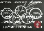 Image of 1932 Summer Olympic game highlights Los Angeles California USA, 1932, second 5 stock footage video 65675063358