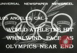 Image of 1932 Summer Olympic game highlights Los Angeles California USA, 1932, second 8 stock footage video 65675063358