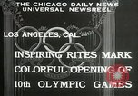 Image of Olympic games Los Angeles California USA, 1932, second 8 stock footage video 65675063359