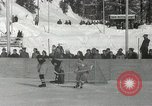 Image of Winter Olympics hockey Canada, 1948, second 8 stock footage video 65675063373