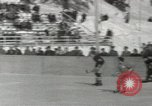 Image of Winter Olympics hockey Canada, 1948, second 9 stock footage video 65675063373