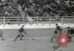 Image of Winter Olympics hockey Canada, 1948, second 12 stock footage video 65675063373