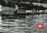 Image of Scenes from an annual Harvard and Yale rowing race on the Thames River New London Connecticut USA, 1900, second 5 stock footage video 65675063384