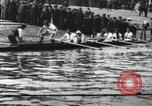 Image of Scenes from an annual Harvard and Yale rowing race on the Thames River New London Connecticut USA, 1900, second 8 stock footage video 65675063384