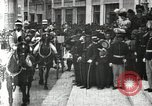 Image of King Edward VII and Queen Alexandra are guests of Greek King George I  Athens Greece, 1906, second 2 stock footage video 65675063389