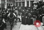 Image of King Edward VII and Queen Alexandra are guests of Greek King George I  Athens Greece, 1906, second 3 stock footage video 65675063389