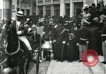 Image of King Edward VII and Queen Alexandra are guests of Greek King George I  Athens Greece, 1906, second 4 stock footage video 65675063389