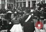 Image of King Edward VII and Queen Alexandra are guests of Greek King George I  Athens Greece, 1906, second 11 stock footage video 65675063389