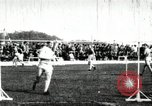 Image of Athletes compete in long and high jump during U.S. field event United States USA, 1906, second 4 stock footage video 65675063390