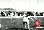 Image of Athletes compete in long and high jump during U.S. field event United States USA, 1906, second 5 stock footage video 65675063390