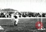 Image of Athletes compete in long and high jump during U.S. field event United States USA, 1906, second 6 stock footage video 65675063390