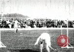 Image of Athletes compete in long and high jump during U.S. field event United States USA, 1906, second 11 stock footage video 65675063390