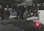 Image of Franklin Roosevelt grave at Springwood in Hyde Park New York United States USA, 1945, second 10 stock footage video 65675063398