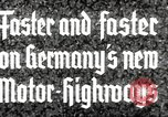 Image of highway construction Germany, 1936, second 7 stock footage video 65675063400