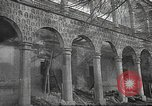 Image of destroyed palace Guadalajara Spain, 1936, second 1 stock footage video 65675063413