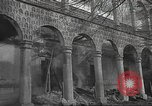 Image of destroyed palace Guadalajara Spain, 1936, second 2 stock footage video 65675063413