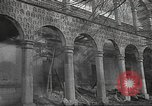 Image of destroyed palace Guadalajara Spain, 1936, second 4 stock footage video 65675063413